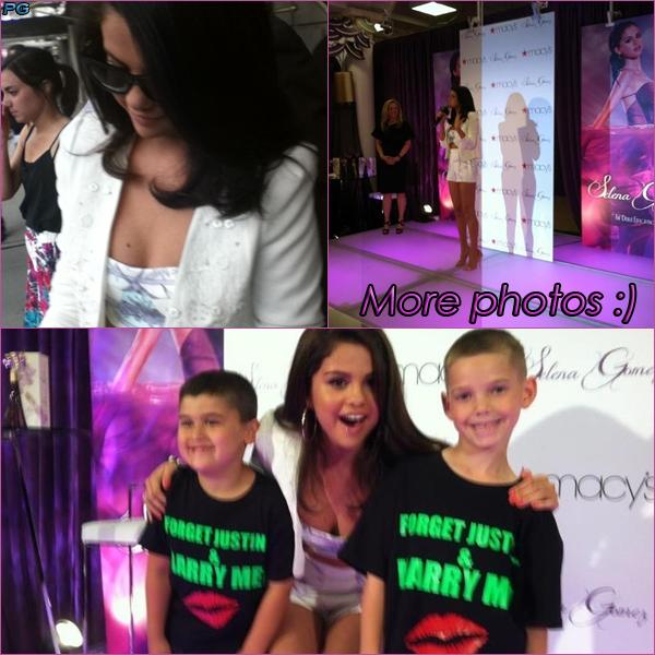 9 Juin 2012 ; Selena chez Macy's + Fans + Nouvelles Photos / Event + Photos de fans + Photoshoots