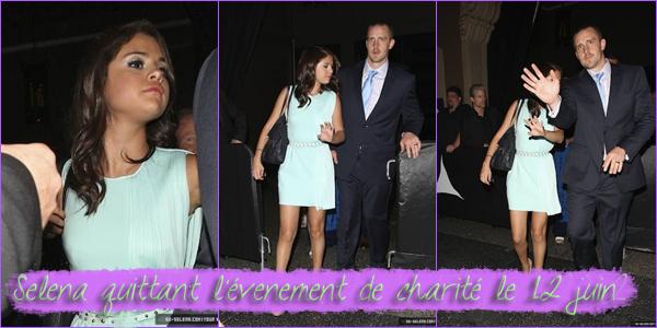12, 14 & 15 Juin 2012 ; S. quittant RTL et un resto + à LAX + au Canada + New Photos / Candids + Photoshoots