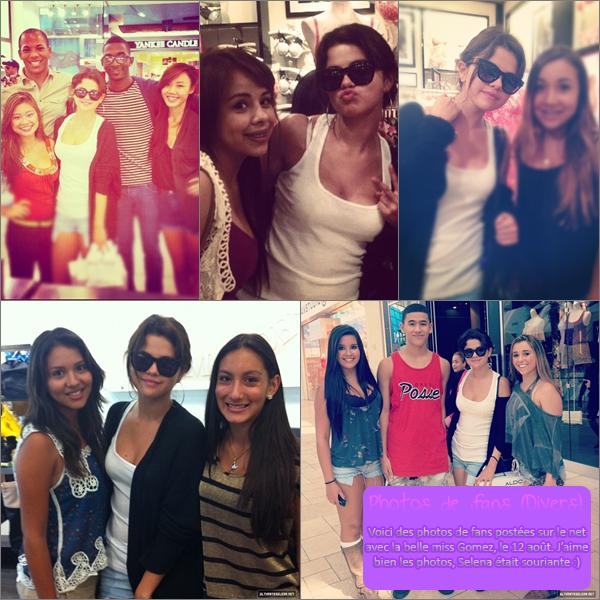 9, 10 & 12 Août 2012 ; Selena de sortie à L.A. + Sur le set de FTD + Nouvelles Photos / Candids + Photos de fans