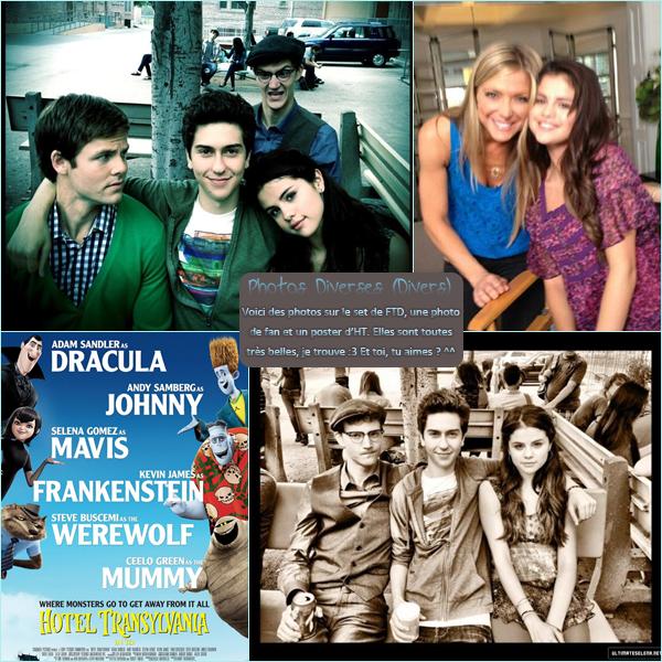 22 août 2012 ; Sel sur le set de FTD avec Ashley + Photos Diverses + Poster d'HT / Candids + Nouvelles photos + Posters