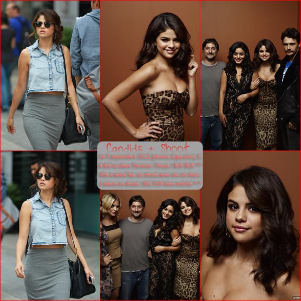 7  septembre 2012 ; Sel au TIFF + dans Toronto + Nouveau Photocall / Events + Candids + Shoots