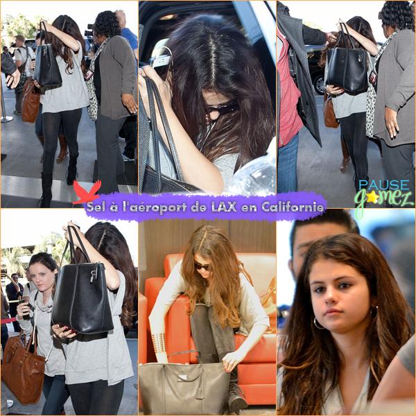 NO DATE ; Shoot datant de 2011 + Selly à l'aéroport de LAX / Photoshoots + Candids