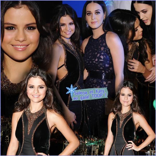 27 novembre 2012 ; Selly était au Gala Snowflake avec Katy P. + Backstage de DOL / Event + Photos