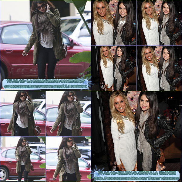 15 & 17 décembre 2012 ; S. à Encino, Burbank et avec Ash' + Photos pour CM / Candids + Photoshoot