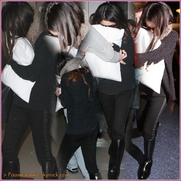 19.01.13 : Selly arrivant et pendant le concert de charité de l'UNICEF.