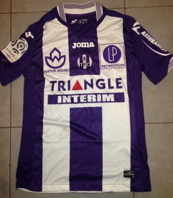 Saison 2015/2016 maillot porté Adrien REGATTIN