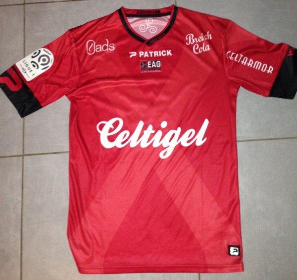Saison 2015/2016 maillot porté Julien CARDY lors de TFC/GUINGAMP