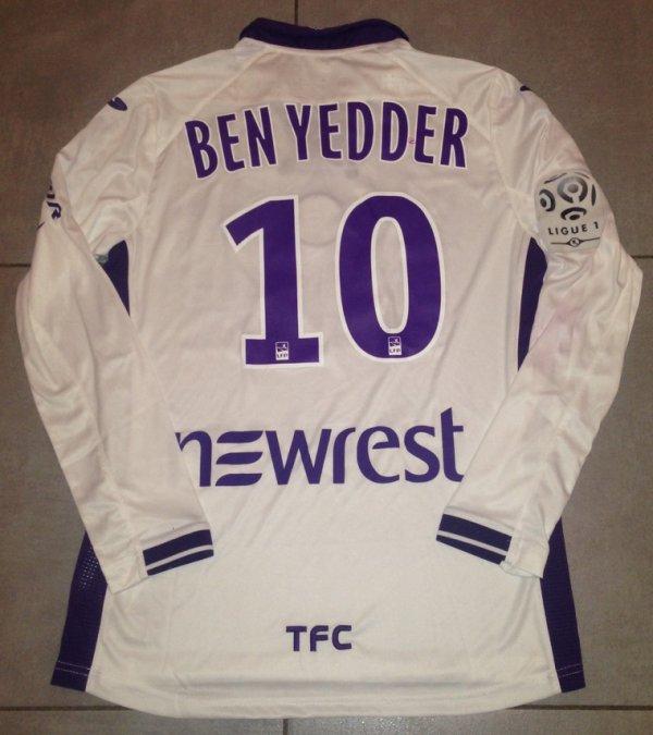Saison 2015/2016 maillot porté par BENYEDDER lors de Guingamp/TFC ( championnat)