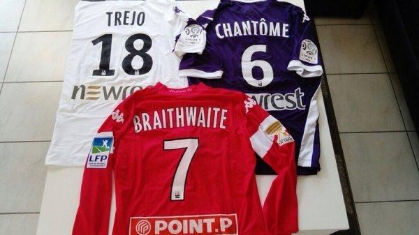 Saison 2013/2014 maillots portés