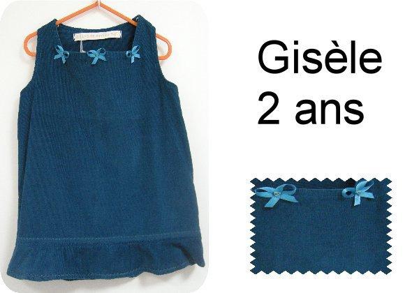 Gisèle 2 ans
