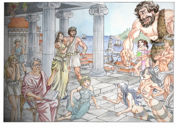 Aline partage les aventures d'Ulysse !