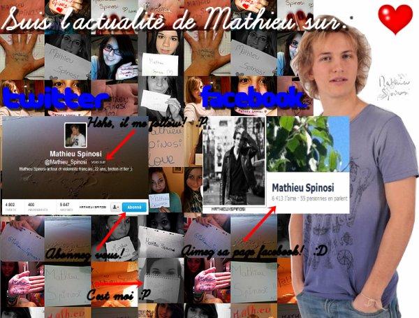 Les sites personnels de Mathieu