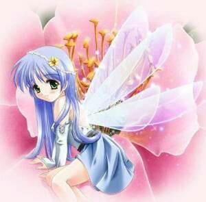 Fille papillon/ Fée:  1