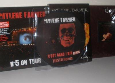 """Picture disc """"C'est dans l'air"""""""