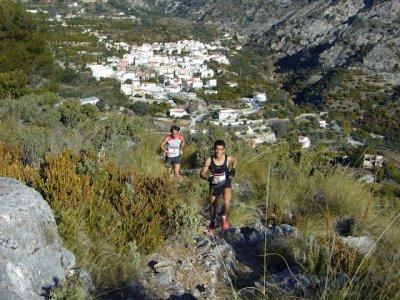 los guajares 2012 zaid y ivan pareja de andalucia carrera por montaña
