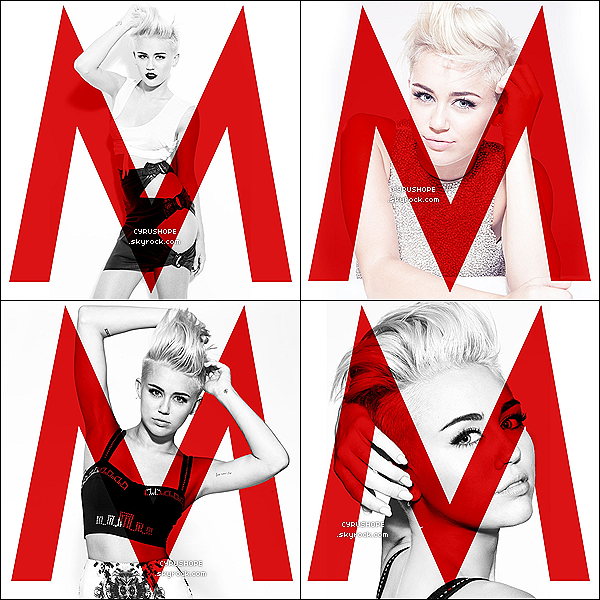 - Découvrez enfin le photoshoot de Miley pour son site officiel : MileyCyrus.com !-