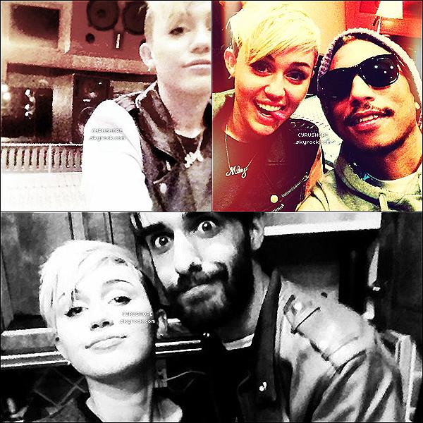 . Miley a posté des photos sur son Pheed dont une avec son ami, Cheyne Thomas. . // TOP?