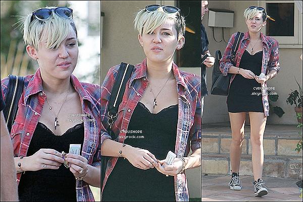 . 06/11/2012 -  Miley C. se rendait au bureau de vote pour les élections américaine.Comme elle nous l'avais déjà fait comprendre, Miley a voté pour le président sortant, B. Obama qui a remporté les élections..