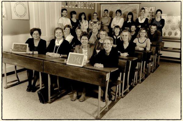 Fête de la Jeunesse, 1962, classe de Mlle Gentil   Centenaire du collège des Parcs