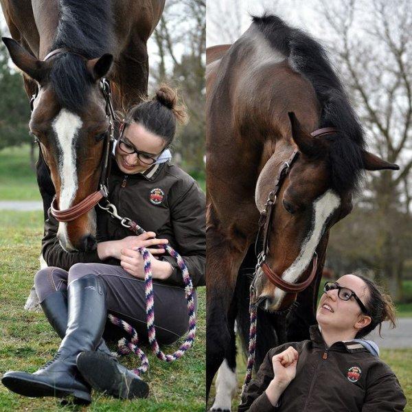 L'équitation, ça devient beau quand deux êtres ne font plus qu'un..♥