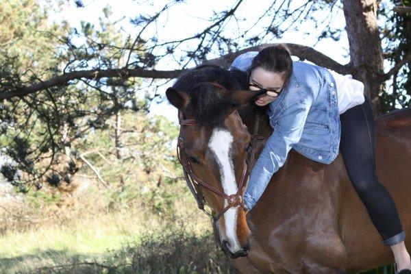 -Il a du coeur ce cheval! -Non, il a bien plus que ça..♥