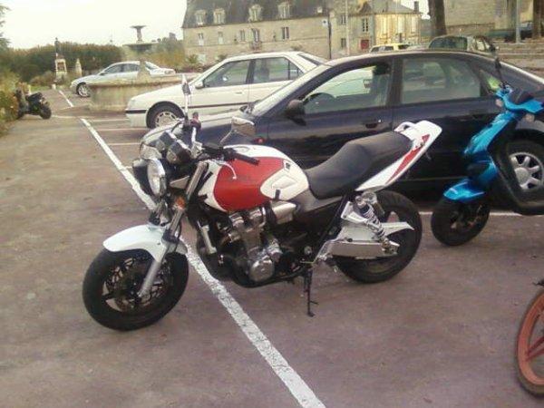 la moto de mon homme