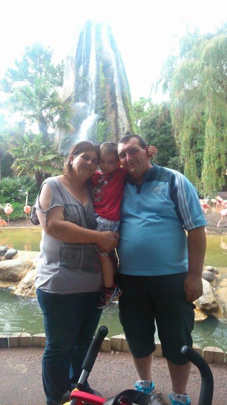 nous 3 au zoo de la palmyre