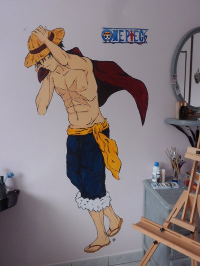 Luffy et happy