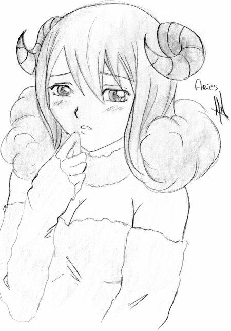 Aries de Fairy Tail