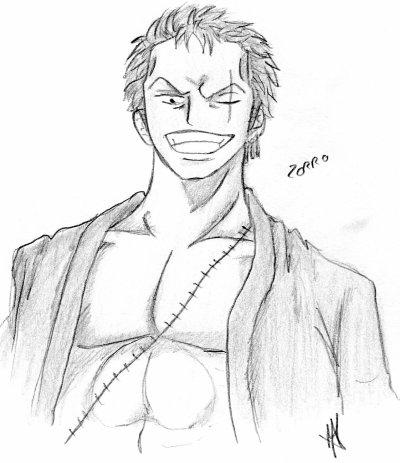 Roronoa Zorro de One Piece 2 ans plus tard
