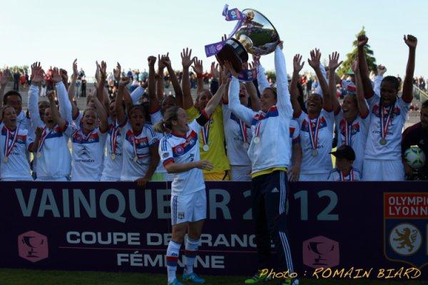 Les Feminines aussi remporte la Coupe de France 2012