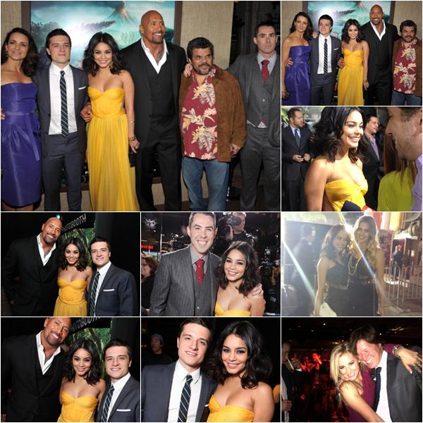 Za-Nessa-Source02/ 02/ 2012 : Tout le monde était réunit pour la première de Journey 2, à Los Angeles. Premier tapis rouge pour Vaustin.. ça se fête ?!
