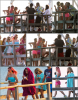 Za-Nessa-Source 28 /03 /12: Vanessa, Ashley, Selena, Rachel et James Franco sur le tournage de Spring Breakers.Za-Nessa-Source