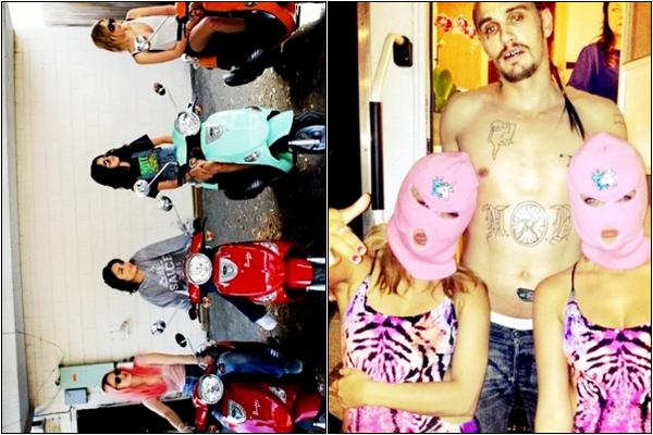 Za-Nessa-Source 11 /04 /12: Après avoir flânés dans les rues de New York, Rome, Paris.. Après s'être léchés la gueule dans tout les endroits de Los Angeles...