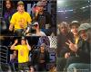 Za-Nessa-Source  12 /05 /12 : Zac a assisté à un match de Baskett des Lakers, avec des amis.Za-Nessa-Source