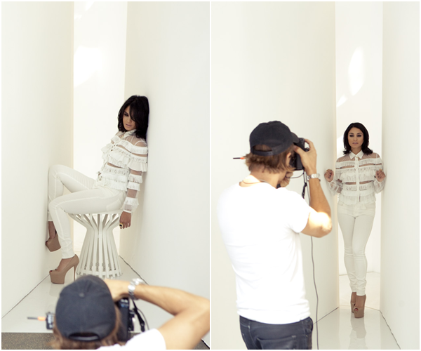 Za-Nessa-Source Backstage - Photoshoot, Glow MagasineZa-Nessa-Source