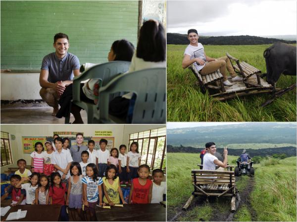 Za-Nessa-Source  Des photos de Zac lors de son voyage aux Philippines.Za-Nessa-Source