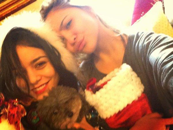 Za-Nessa-SourceVanessa et Stella ont tenu à nous souhaiter un Joyeux Noël via instagram.Za-Nessa-Source