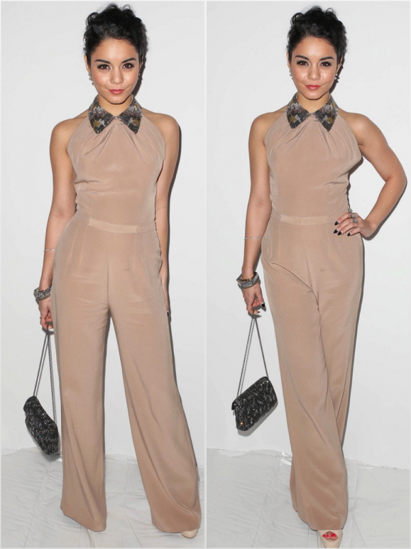 Za-Nessa-SourceVanessa, apparemment nostalgique de ses cheveux courts, et prête à devenir ambassadrice officielle de la fashion week... Za-Nessa-Source