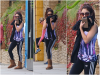 "Za-Nessa-Source""Comment se cacher des paparazzis. Porter une onesie"" Vanessa, via Instagram.Za-Nessa-Source"
