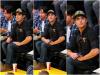 Za-Nessa-Source(28.04.13) Zac, toujours seul, s'adonnant à son activité favorite : Supporter les Lakers.Za-Nessa-Source