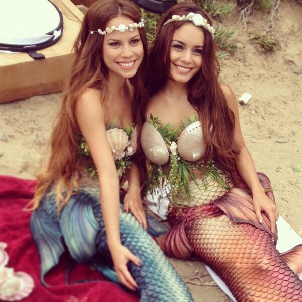 Za-Nessa-SourceNous sommes passés du printemps à l'été. Qui dit été dit plage, et donc plage = sirène.Za-Nessa-Source
