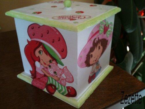 Ensemble Charlotte aux fraises