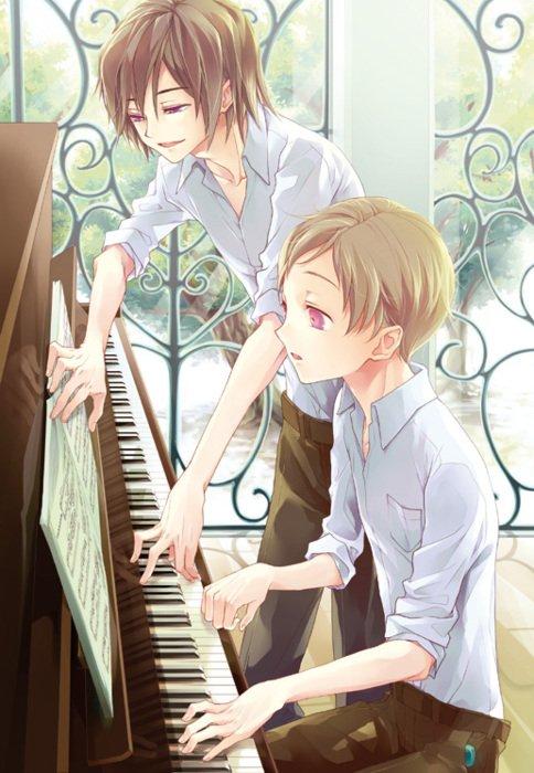 L'homme et la musique :)  (Oneshot) #Ia
