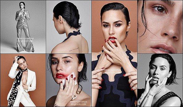 18 Mai 2016 / Demi a été interviewé par Refinery29 et a posé pour eux.
