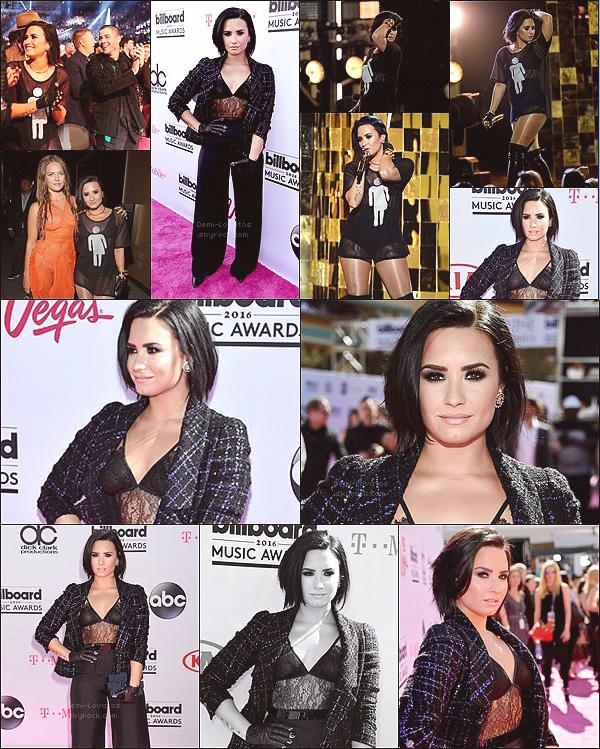 22 Mai 2016 / Demi été présente aux Billboard Music Awards à Las Vegas.