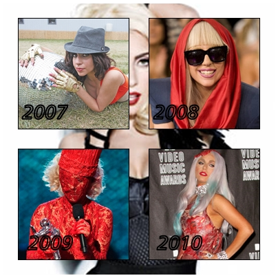 . Gaga et les années.. .