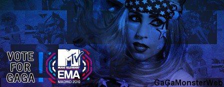 """. A 3 jours de la grande soirée, faisons un petit point EMA 2010, Mother Monster est nominé dans 5 catégories qui sont les suivantes : la """"Meilleure chanson"""" avec Bad Romance, le """"Meilleur concert"""", la """"Meilleur artiste pop"""", la """"Meilleure artiste féminine"""" et pour le """"Meilleur clip"""" avec Téléphone, en collaboration avec Beyoncé. Malheureusement, Gaga ne pourra pas être présente puisque elle en pleine tournée du Monster Ball, mais souhaitons lui bonne chance, j'espère qu'elle sera encore la reine de la soirée, comme auparavant au VMA'S 2010, en raflant tous les prix ! Si vous voulez voir la cérémonie, c'est dimanche en direct a 21h00 sur MTV, ou sur le site des EMA  ."""