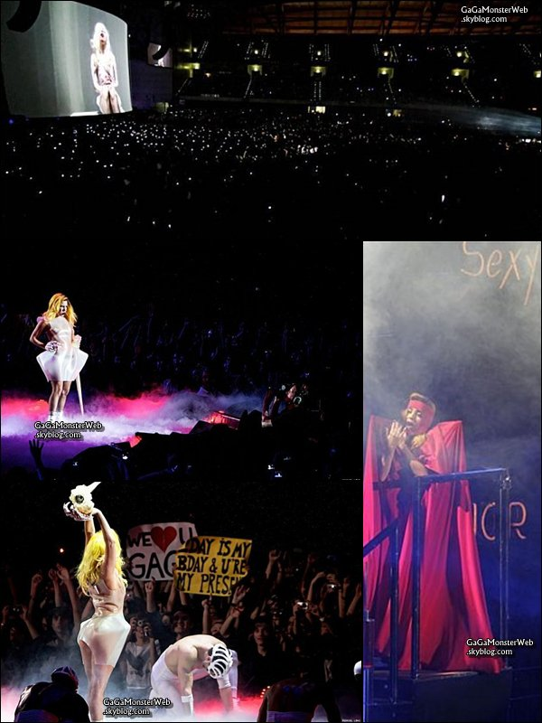 .   10 décembre 2010 :  Le Monster Ball Tour été a Lisbonne, au Portugal..