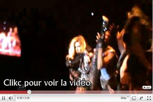 .   20 décembre 2010 :  Le MonsterBall Tour est a Paris, pour une serie de 2 concerts voici des videos de la  premiere date ! Show toujours mené a la perfection..